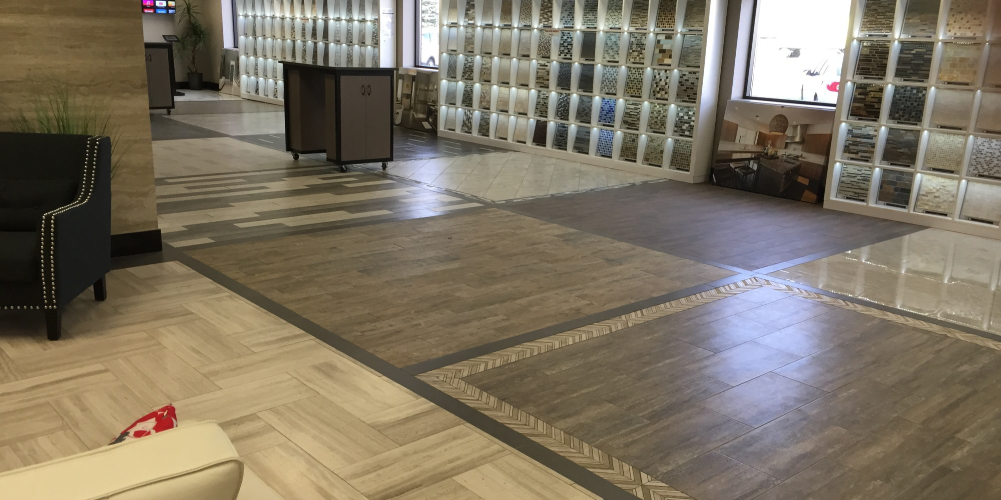 Commercial Tile Installation Company Touchdown Tile