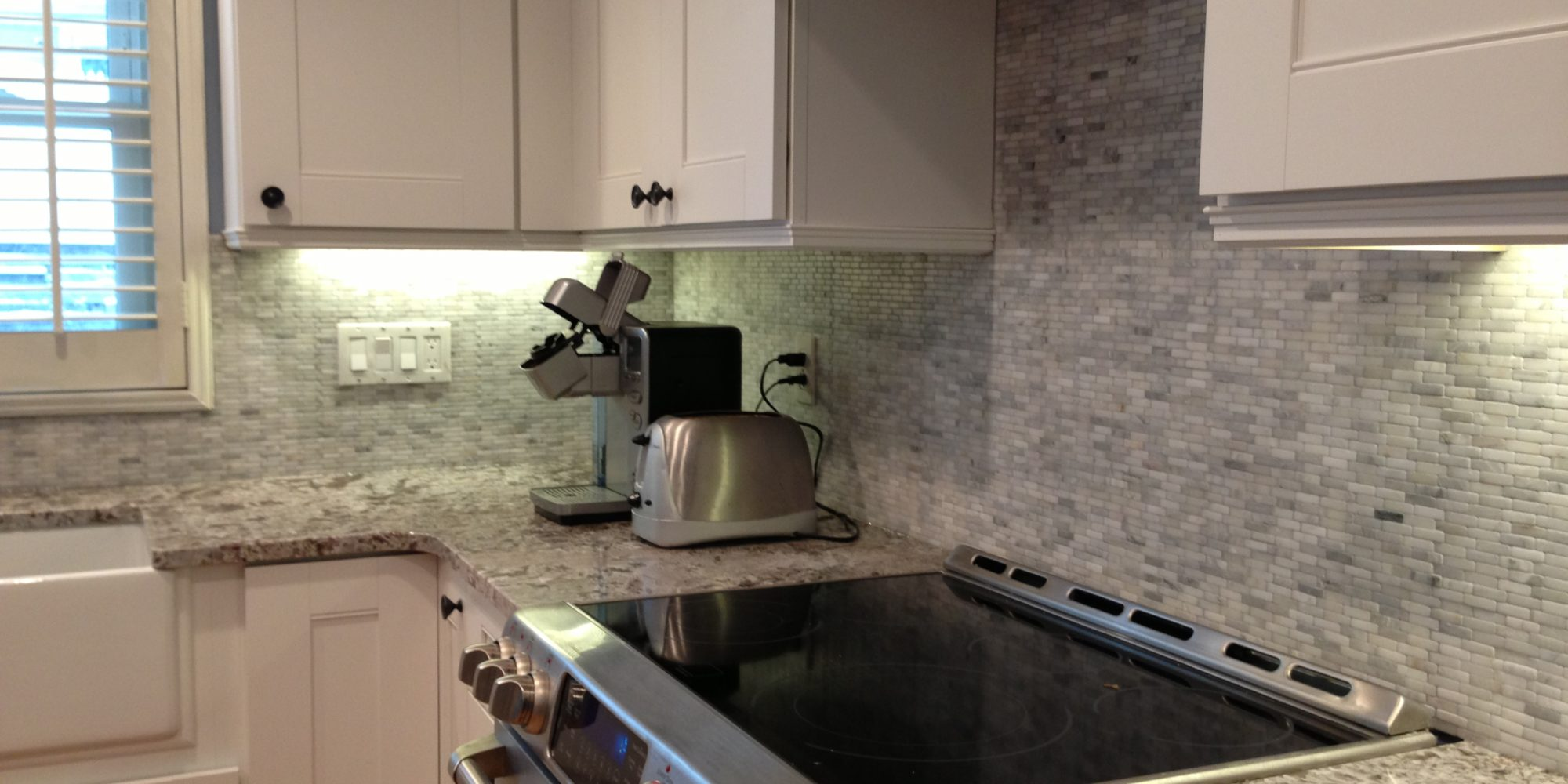 Kitchen backsplash tile installation touchdown tile Backsplash tile installation